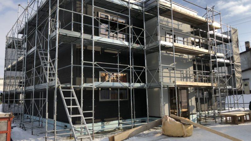 新築アパートの近況